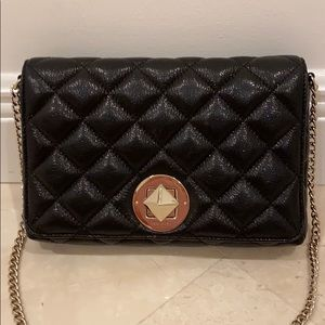 Quilted black leather bag by Kate ♠️ Spade